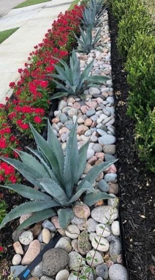 Relaxing Modern Rock Garden Ideas To Make Your Backyard Beautiful 34