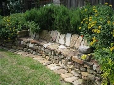 Relaxing Modern Rock Garden Ideas To Make Your Backyard Beautiful 41