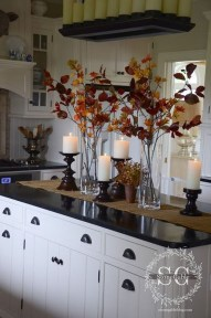 Stunning Fall Living Room Decoration Ideas 20