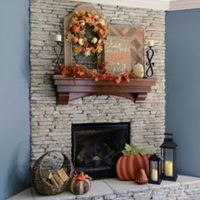 Stunning Fall Living Room Decoration Ideas 21