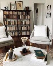 Stylish Bookshelves Design Ideas For Your Living Room 12