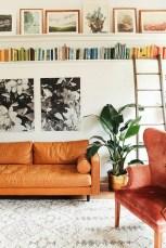 Stylish Bookshelves Design Ideas For Your Living Room 13