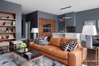 Stylish Bookshelves Design Ideas For Your Living Room 18