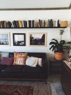 Stylish Bookshelves Design Ideas For Your Living Room 28