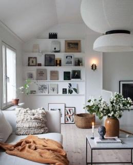 Stylish Bookshelves Design Ideas For Your Living Room 33
