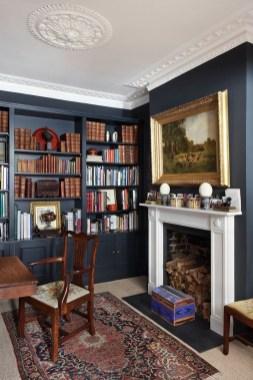 Stylish Bookshelves Design Ideas For Your Living Room 35