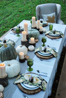 The Best Ideas For Thankgiving Table Decorations 08