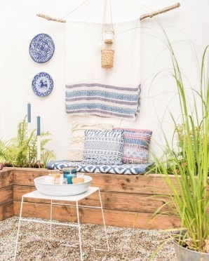 Awesome Bohemian Style Ideas For Outdoor Design 09