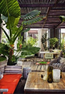 Awesome Bohemian Style Ideas For Outdoor Design 15