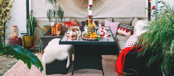 Awesome Bohemian Style Ideas For Outdoor Design 49