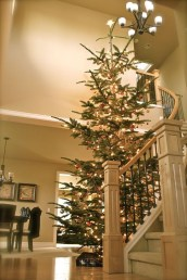 Best Christmas Decorations That Turn Your Staircase Into A Fairy Tale 10