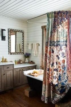 Brilliant Bohemian Style Ideas For Bathroom 15