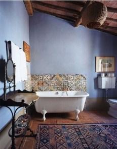 Brilliant Bohemian Style Ideas For Bathroom 31