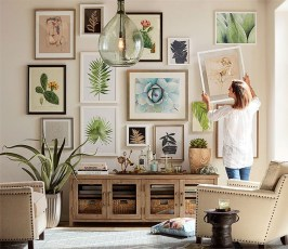 Brilliant Living Room Wall Gallery Design Ideas 38