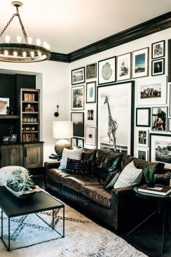 Brilliant Living Room Wall Gallery Design Ideas 43