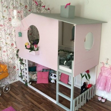 Cool Ikea Kura Beds Ideas For Your Kids Rooms 07