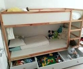 Cool Ikea Kura Beds Ideas For Your Kids Rooms 16
