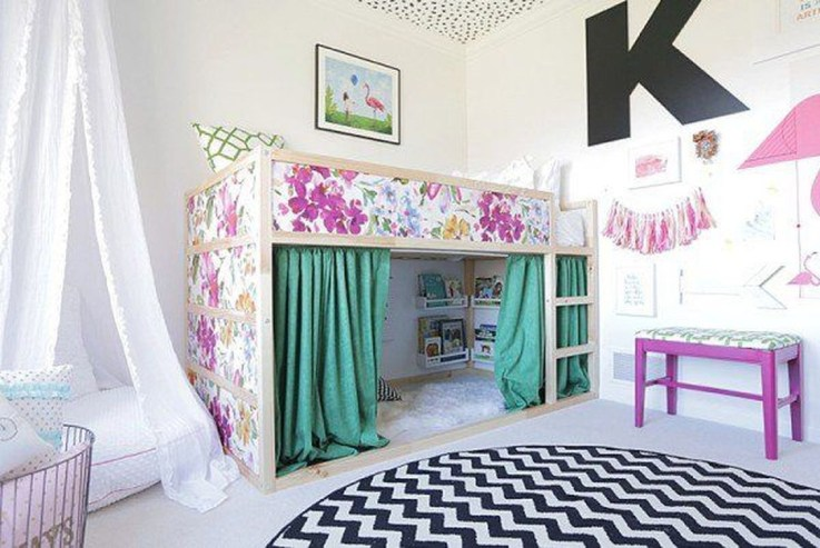 Cool Ikea Kura Beds Ideas For Your Kids Rooms 19