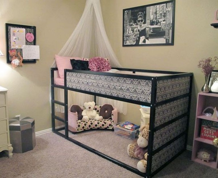 Cool Ikea Kura Beds Ideas For Your Kids Rooms 28