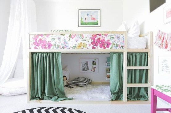 Cool Ikea Kura Beds Ideas For Your Kids Rooms 37