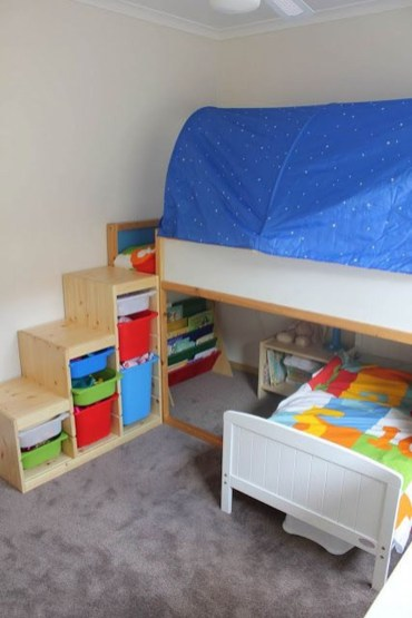 Cool Ikea Kura Beds Ideas For Your Kids Rooms 45