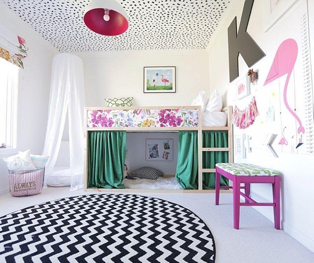 Cool Ikea Kura Beds Ideas For Your Kids Rooms 47