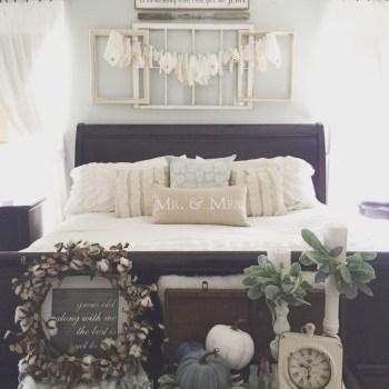 Cozy Fall Bedroom Decoration Ideas 33