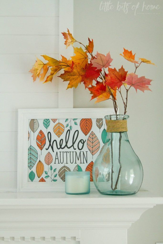 Cozy Fall Bedroom Decoration Ideas 55