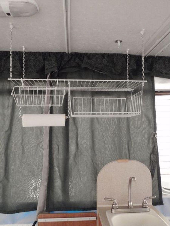 Creative But Simple DIY Camper Storage Ideas 03