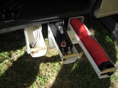 Creative But Simple DIY Camper Storage Ideas 24