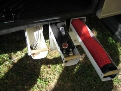 Creative But Simple DIY Camper Storage Ideas 25