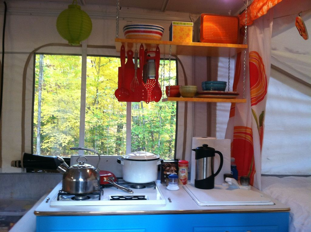 Creative But Simple DIY Camper Storage Ideas 39