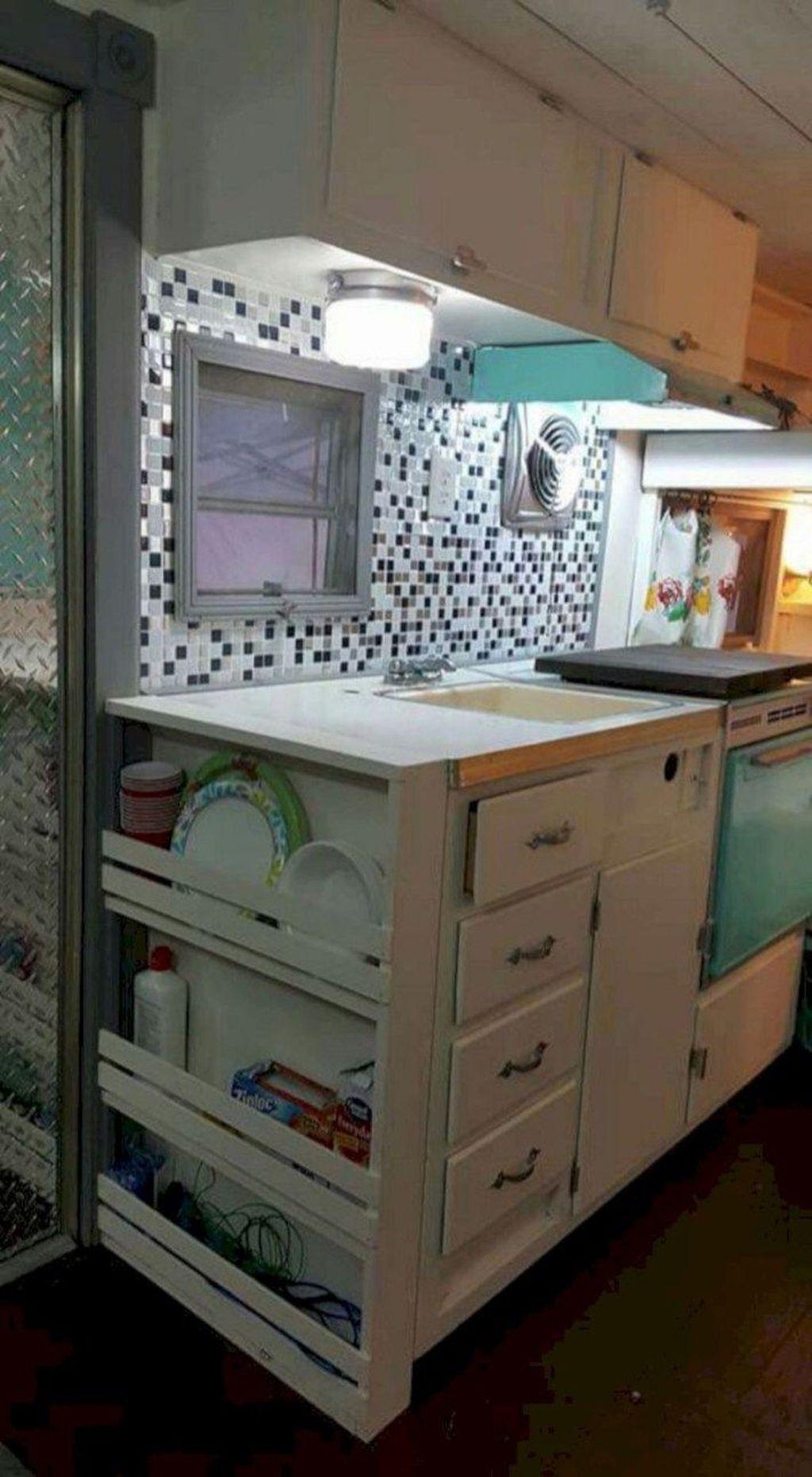 Creative But Simple DIY Camper Storage Ideas 40