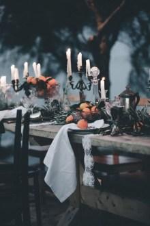 Elegant Outdoor Halloween Decoration Ideas 48