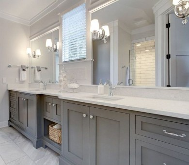 Incredible Bathroom Cabinet Paint Color Ideas 15