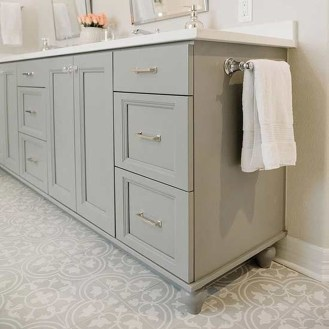 Incredible Bathroom Cabinet Paint Color Ideas 35