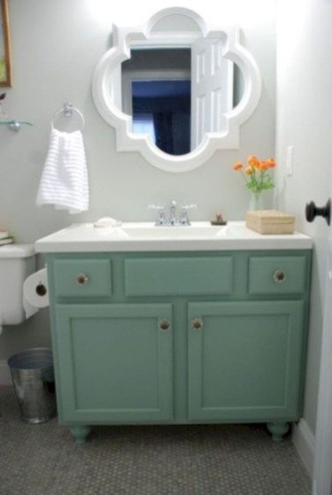 Incredible Bathroom Cabinet Paint Color Ideas 37