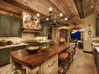 Luxury Tuscan Kitchen Design Ideas 14