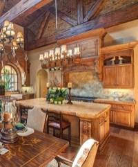 Luxury Tuscan Kitchen Design Ideas 18