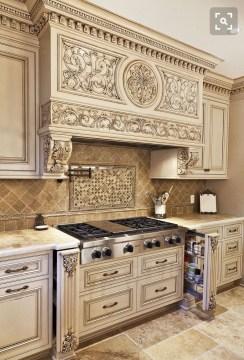 Luxury Tuscan Kitchen Design Ideas 22