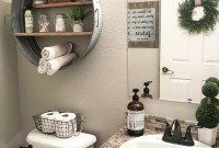 Outstanding DIY Bathroom Makeover Ideas On A Budget 16