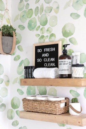Outstanding DIY Bathroom Makeover Ideas On A Budget 27