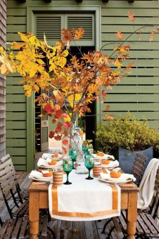Simple Fall Table Decoration Ideas 28