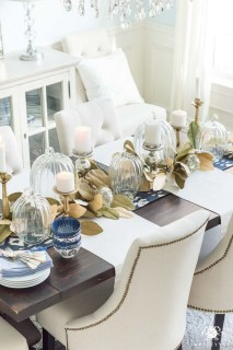 Simple Fall Table Decoration Ideas 38