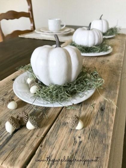 Simple Fall Table Decoration Ideas 54
