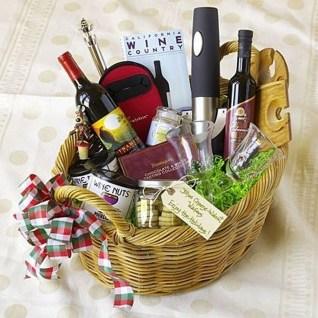 Stylish DIY Wine Gift Baskets Ideas 29