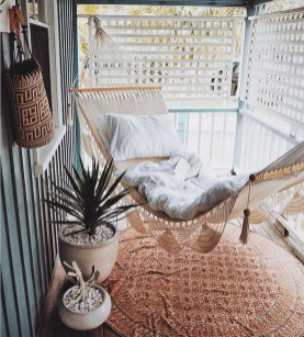 Unique Apartment Small Porch Decorating Ideas 12