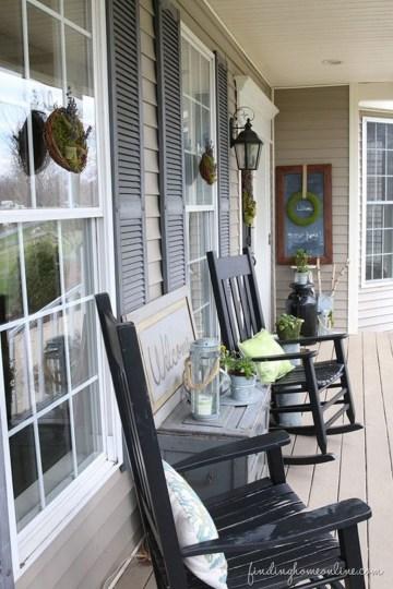 Unique Apartment Small Porch Decorating Ideas 52