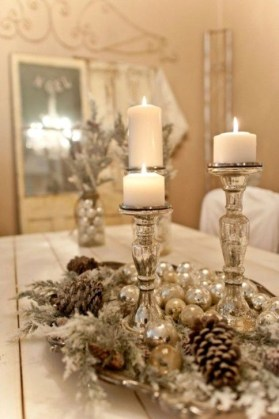 Amazing Christmas Centerpieces Decoration Ideas 07