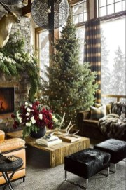 Awesome Fireplace Christmas Decoration To Makes Your Home Keep Warm 32